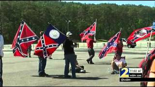 """White Power"" rally turns violent at Stone Mountain"
