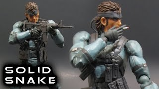 Figma SOLID SNAKE Figure Review