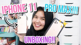 FINALLY!! UNBOXING IPHONE 11 PRO MAX!!!