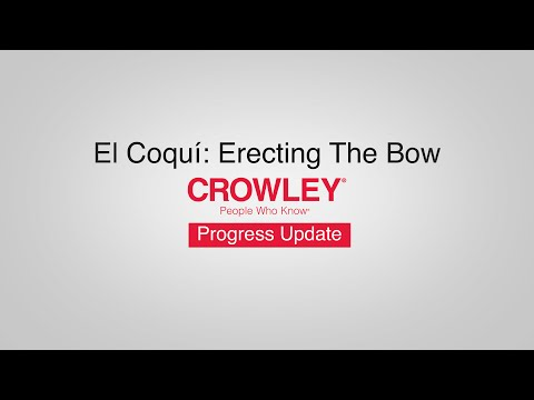 El Coquí: Erecting The Bow