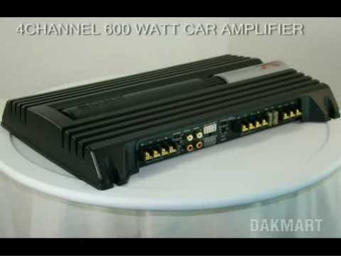 sony xplod xm-zr604 4-channel 600 watt car amplifier - xmzr604 - youtube amp wiring diagram sony xm 502x #9