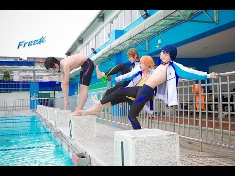 【Cosplay PV】Free! Cosplay video Photoshoot blooper Taiwan