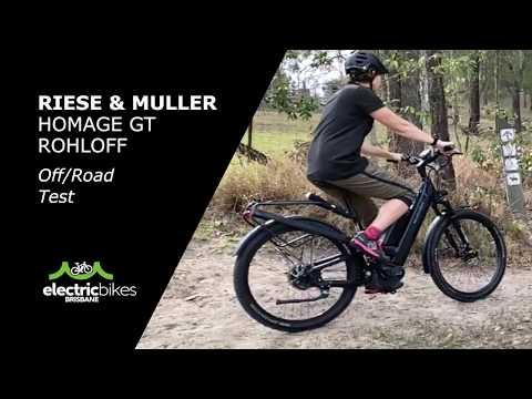 R&M Homage Rohloff E-Bike | Electric Bikes Brisbane Road Test