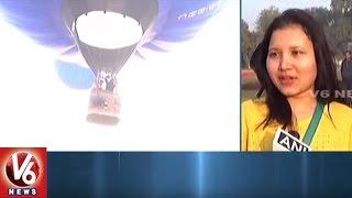Taj Balloon Festival Begins in Agra   Uttar Pradesh..