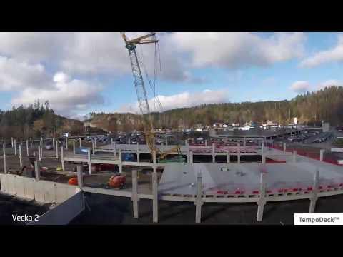 TempoDeck monteras vid Gekås