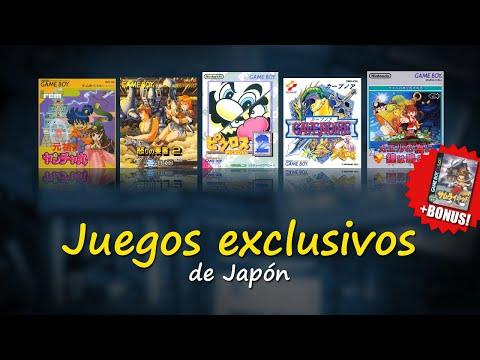 Game Boy con Marc 13: Juegos EXCLUSIVOS de JAPÓN