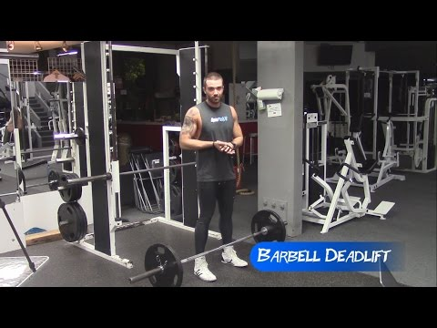 Barbell Deadlift Form | Frank's Booty Blast 2