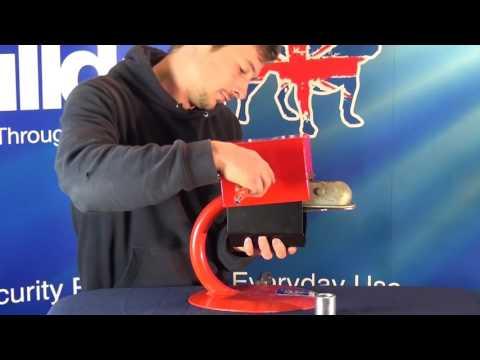 BULLDOG SECURITY Minilock Hitchlock for Al-Ko Box Tube Hitch (LT)
