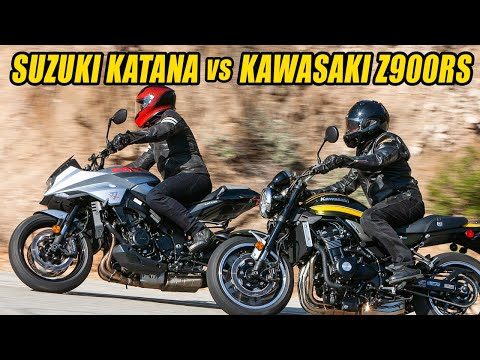 Retro Rumble Redux: Kawasaki Z900RS vs Suzuki Katana