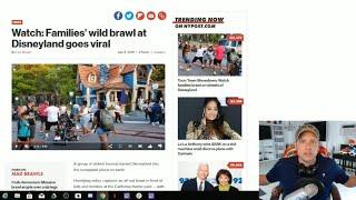 Disneyland FIGHT - What Happened To Disney Security?