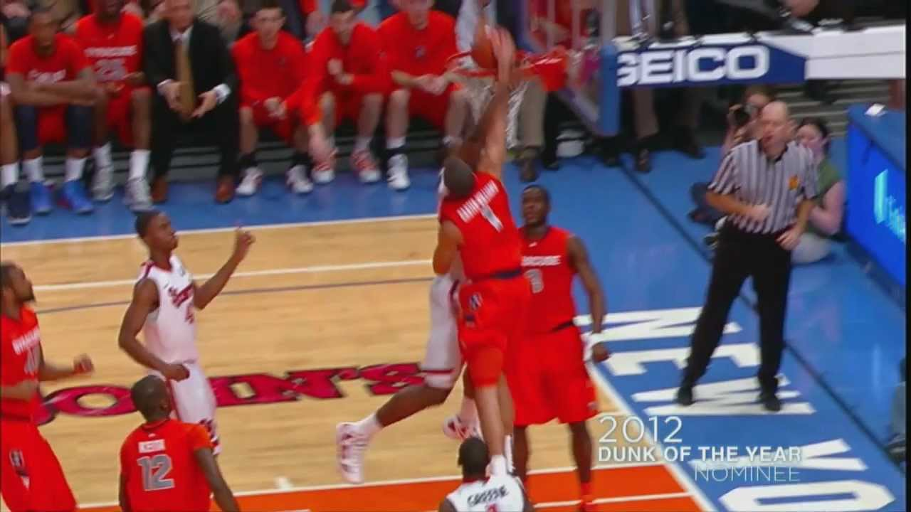 World Biggest In The Dunk: Syracuse (2012 Dunk Of The Year