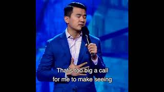 Ronny Chieng never knew Asian stereotypes exited united he moved to America
