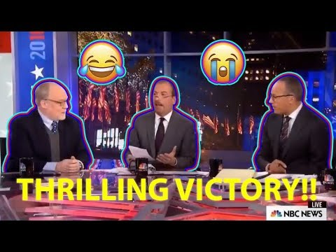 The moment NBC News *REALIZES* Trump has WON FLORIDA!!