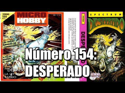 MICROHOBBY 154: DESPERADO TOPO SOFT