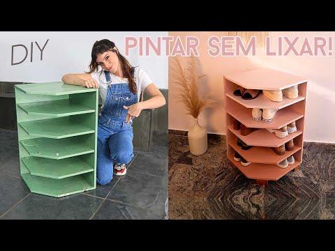 DIY Como Pintar Móvel sem LIXAR!