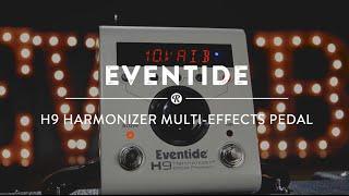 Eventide H9 Harmonizer Multi-Effect Pedal | Reverb Demo Video