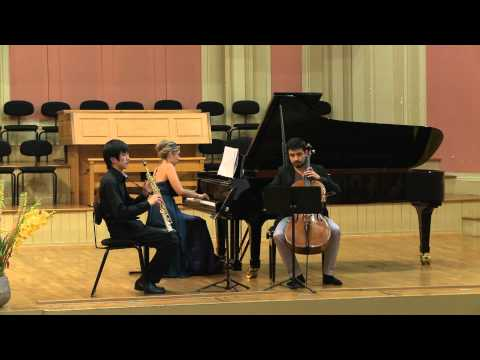 Claude Debussy - Trio in G major (1880) - 4/4 - Trio Saxpiacello