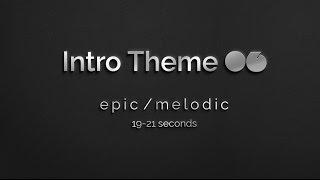 Intro Theme Music 06 (Version 2): 20 Seconds