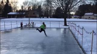 Figure Skating Axel Progress
