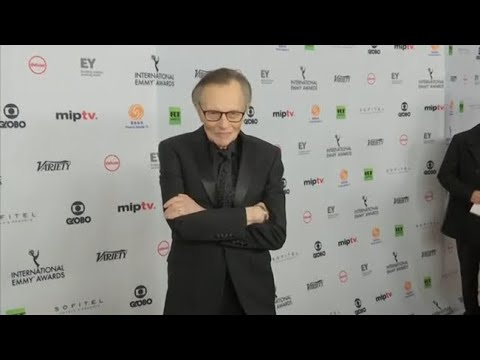 Larry King hospitalized with COVID, family says