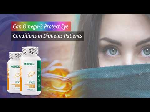 Can Omega-3 Protect Eye Conditions in Diabetes Patients