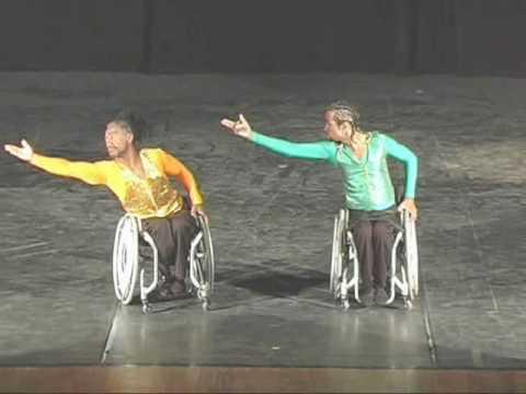 CRS - Ricardo & Rocha em Santos - Wheelchair Dance - Dança em Cadeira de Rodas