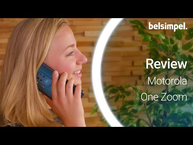 Belsimpel-productvideo voor de Motorola One Zoom