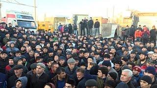 """Дальнобойщики Дагестана против """"Платона"""" и коррупции"""