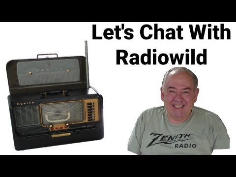 Let's Talk Antique Radio Restoration (and more) With Radiowild