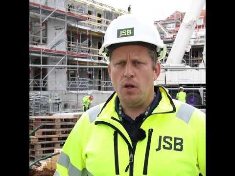 Goda relationer en solklar win-win för JSB, hör entreprenadchef Fredrik Nilsson berätta