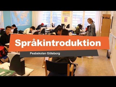 Språkintroduktion på Peabskolan