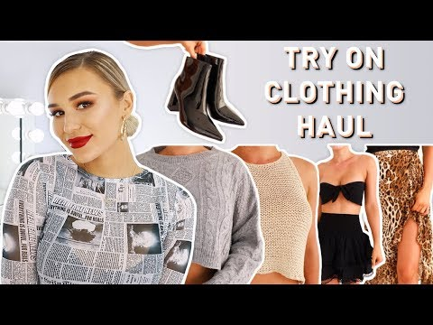 TRY ON CLOTHING HAUL | Princess Polly