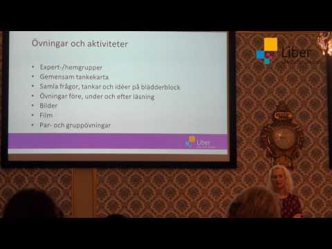 Språkutvecklande arbetssätt med Åsa Sebelius, del 4 av 4