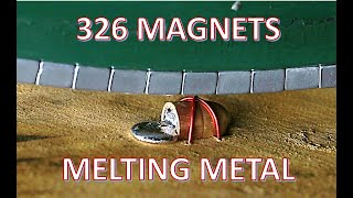Many Moving Magnets Melting Metal