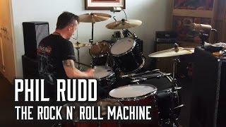 Phil Rudd - Bastidores do Ensaio (Head Job)