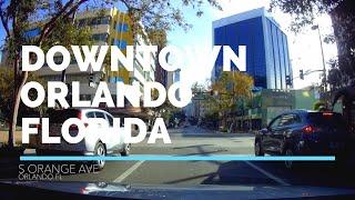 Explore Downtown Orlando Florida by car