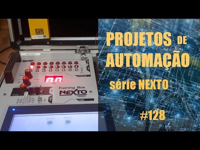 FORNO DE MICROONDAS EMULADO NO CLP NEXTO (p7) | Projetos de Automação #128