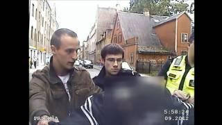 Rīgas Pašvaldības policija aiztur velosipēdu zagli