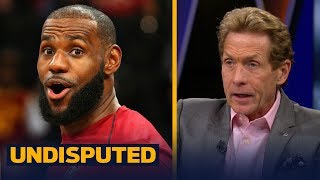 Skip Bayless on LeBron: 'Did he not dry snitch on Jeff Green?' | UNDISPUTED