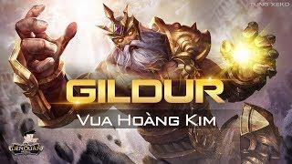 Gildur Liên Quân Mobile -  Hướng dẫn chơi Gildur Vua Hoàng Kim gánh team dù 4 đánh 5 vẫn thắng