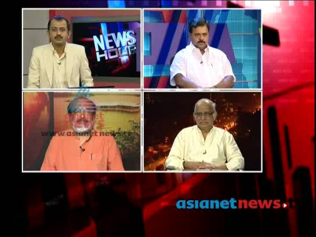 Asianet News Hour discussion- CM threatening Asianet News, 27th July 2013 Part 1