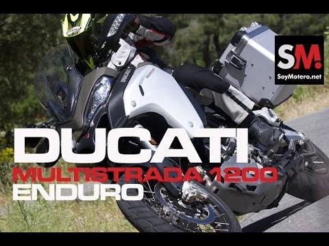 Prueba Maxi Trail: Ducati Multistrada 1200 Enduro 2016 (II)
