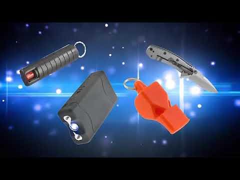 Super Sharp Shooter Keychain Patented Self Defense #asseenontv - YouTube