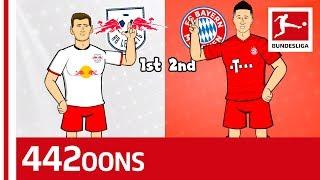 Werner, Lewandowski & Co. - RB Leipzig vs. FC Bayern München Rap Battle - Powered by 442oons