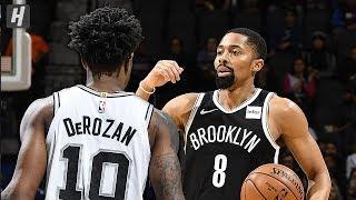Brooklyn Nets vs San Antonio Spurs - Full Game Highlights | December 19, 2019 | 2019-20 NBA Season