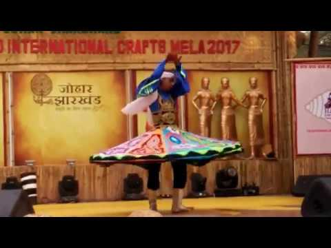 Egyptian Traditional Dance by Male at Surajkund Mela 2017: Day 3