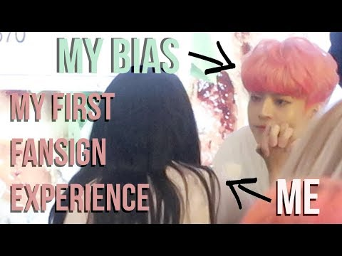 MY FIRST FANSIGN EXPERIENCE