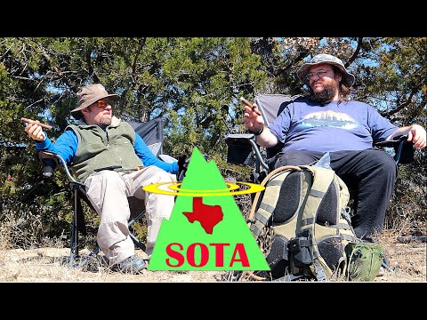 Texas Style SOTA (with Cigars ) | Ham Radio Summits on the Air