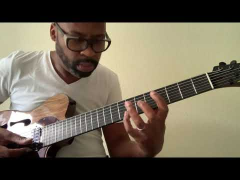 Lionel Loueke | playing Skylark on his custom Lady T semi-hollow by LL