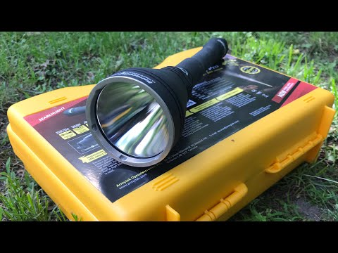 ArmyTek Barracuda Pro Flashlight Review: A Thrower For Sure, Useable In Hand or On A Weapon